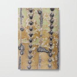 Cactus Texture Metal Print