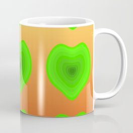 Apple Hearts Coffee Mug