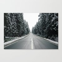 onward Canvas Prints featuring Onward by danotis