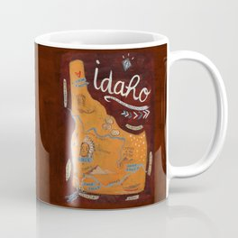 Idaho map Coffee Mug