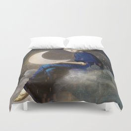 Kingdom of Clouds Duvet Cover
