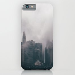 Chicago Shrouded in Fog iPhone Case
