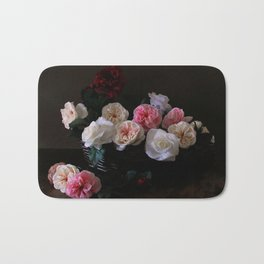 """Power, Corruption & Lies"" by Cap Blackard [Alternate Version] Bath Mat"