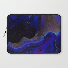 Dark Purple Blue Galaxy - Midnight Shades Laptop Sleeve