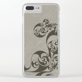 Anglo-Saxon Mirror Clear iPhone Case