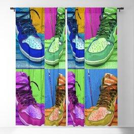 Sneaker Popart Blackout Curtain
