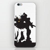 gundam iPhone & iPod Skins featuring Gundam RX-78-2 by Jason Weisbrot