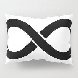 Black Infinity Pillow Sham