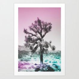 Joshua Tree - Ultraviolet Art Print