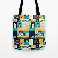 divergent Tote Bags featuring Divergent items by Isabelle Silva