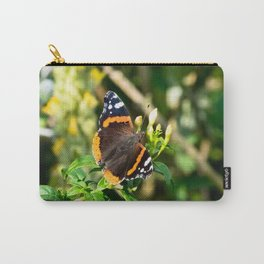 Stunning Red Admiral Butterfly Carry-All Pouch