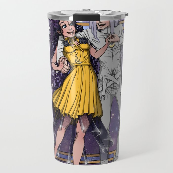 Sailor Moon Human Luna And Artemis Travel Mug By Teohoble