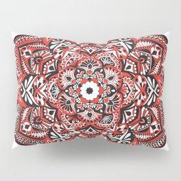 Red Blossom Pillow Sham