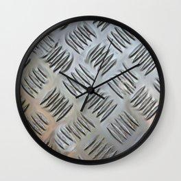 Metal Grating Wall Clock