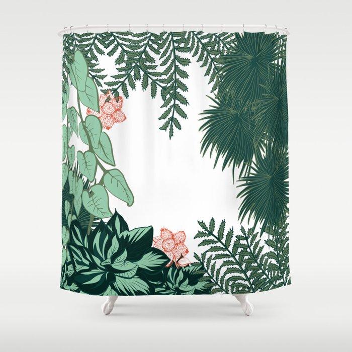 Jungle Fever Shower Curtain By Sarahslefthand Society6