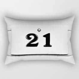 Blackjack Rectangular Pillow