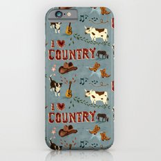 I Love Country iPhone 6s Slim Case