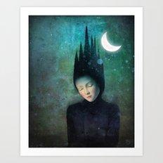 Moonlit Night Art Print