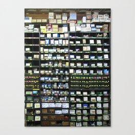 Boxes Canvas Print