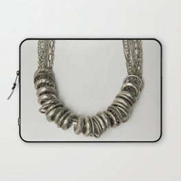 Mongolian silver necklace Laptop Sleeve
