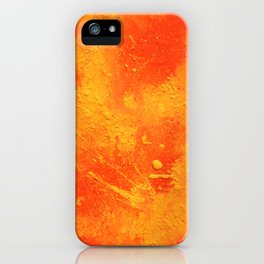Phone abstract painting iPhone Case