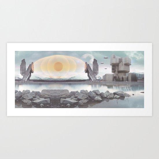PLANET Nikšić 11 Art Print