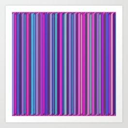 Color line universe Art Print