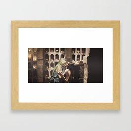 Kiss #1 Framed Art Print