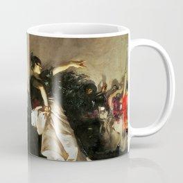 El Jaleo by John Singer Sargent - Vintage Fine Art Oil Painting Coffee Mug
