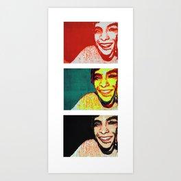 Layers of Personality Art Print
