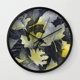 Leaf Study Wall Clock