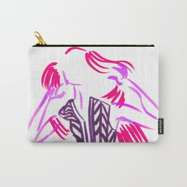 Little Striped Dress - Pink Palette  Carry-All Pouch