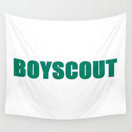 BOYSCOUT BY ROBERT DALLAS Wall Tapestry