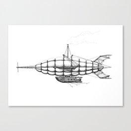 Airship 2 Canvas Print
