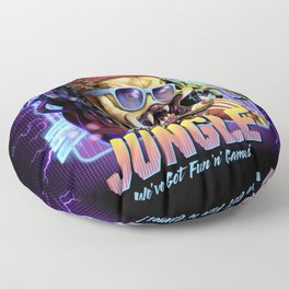 Welcome to the Jungle Floor Pillow