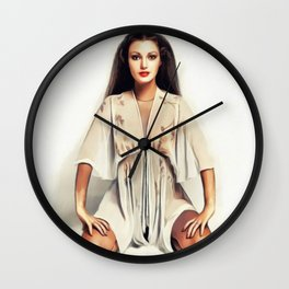 Jane Seymour, Actress Wall Clock