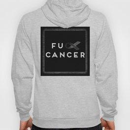 Fuck Cancer (black & white) Hoody