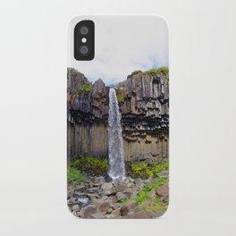 svartifoss iPhone Case