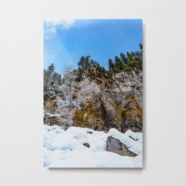 Tamanawas freshly coated Metal Print
