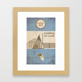 Looking for Love / a Zak & Dean Adventure Framed Art Print