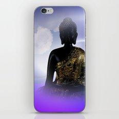 meditation, silence and peace iPhone & iPod Skin