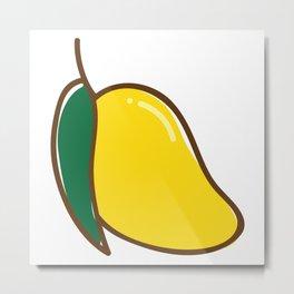 Mango Thai Fruit Metal Print