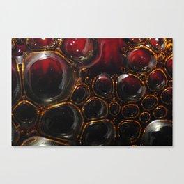 Passion Bubbles Canvas Print