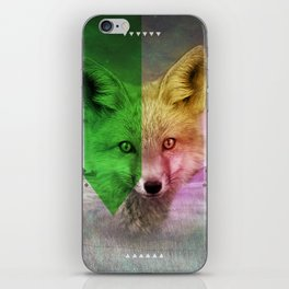 Field of Foxes iPhone Skin