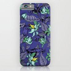 The Sea Garden - deep blue iPhone 6 Slim Case