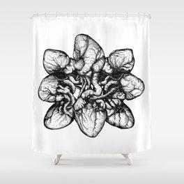 Bound: Hearts Shower Curtain