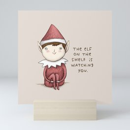 The Elf on The Shelf Mini Art Print