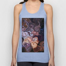 Galaxy Experience Abstract Unisex Tank Top
