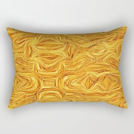 Autumn Splendor Abstract Rectangular Pillow