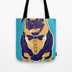 Henry the Pug Tote Bag